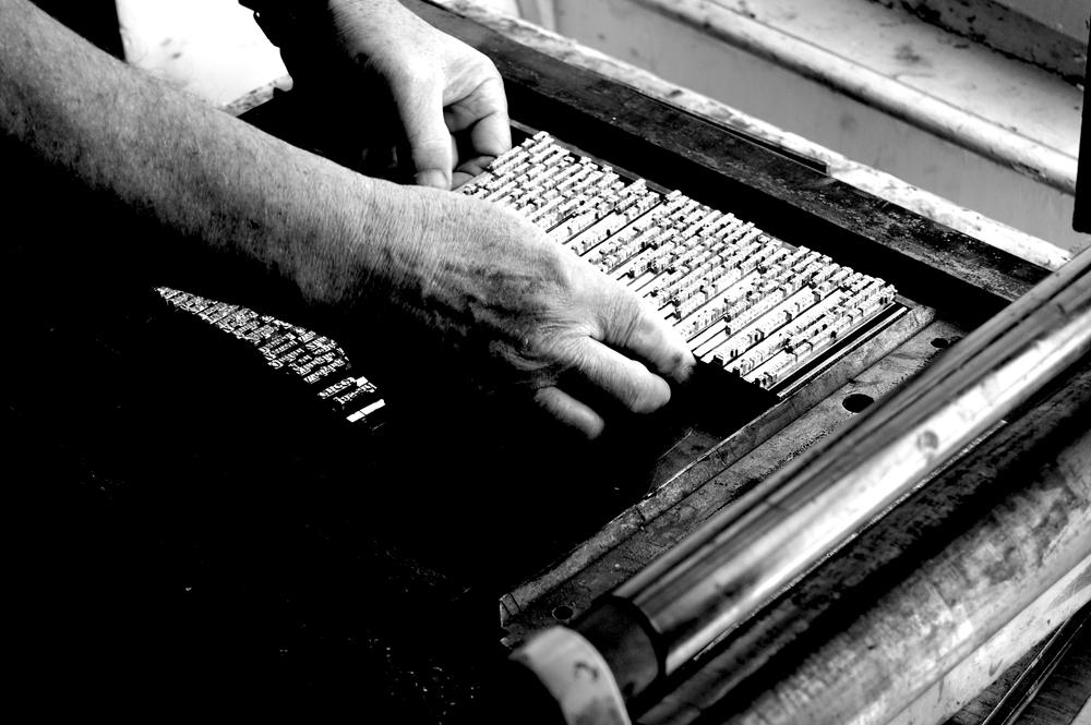 Atelier typographie
