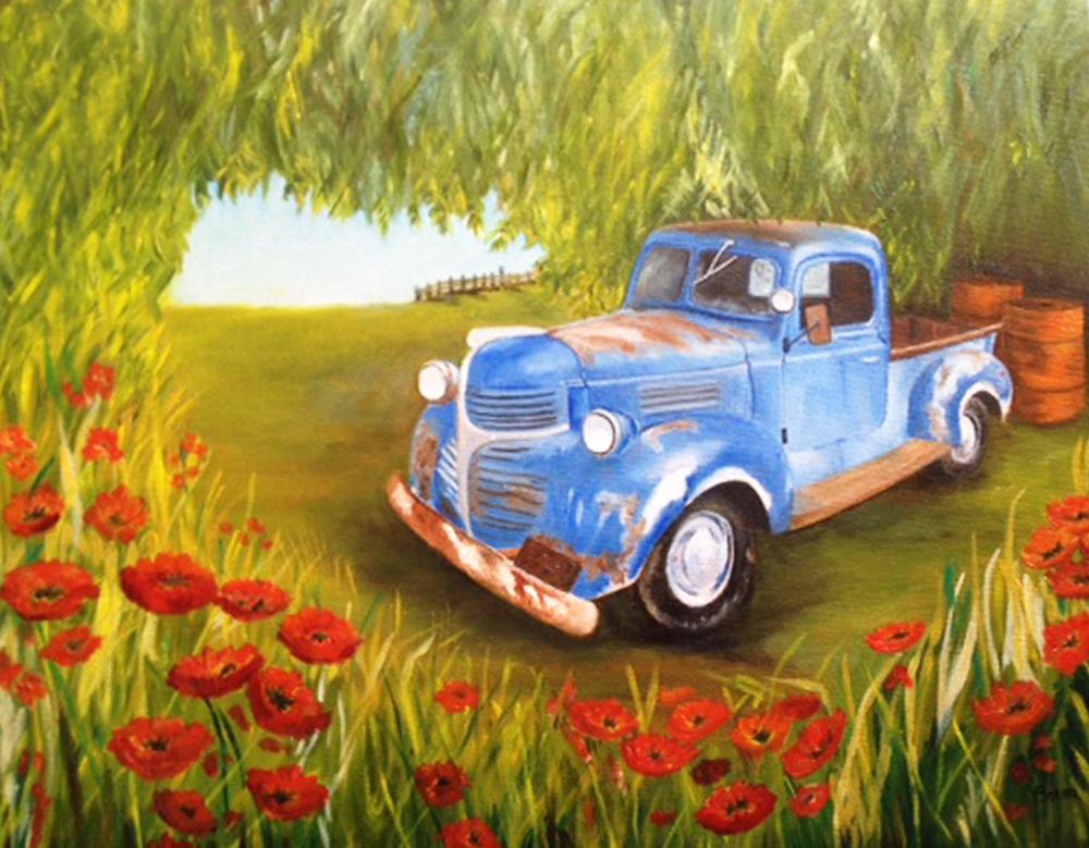 Peinture dde Chantal Westrelin-Berne