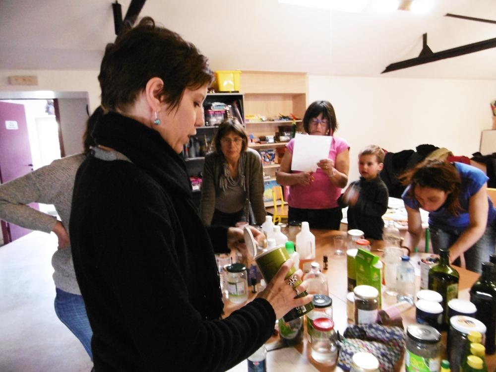 Atelier Eco parentalité du CEDER
