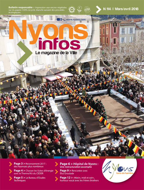 Couverture Nyons Infos 114